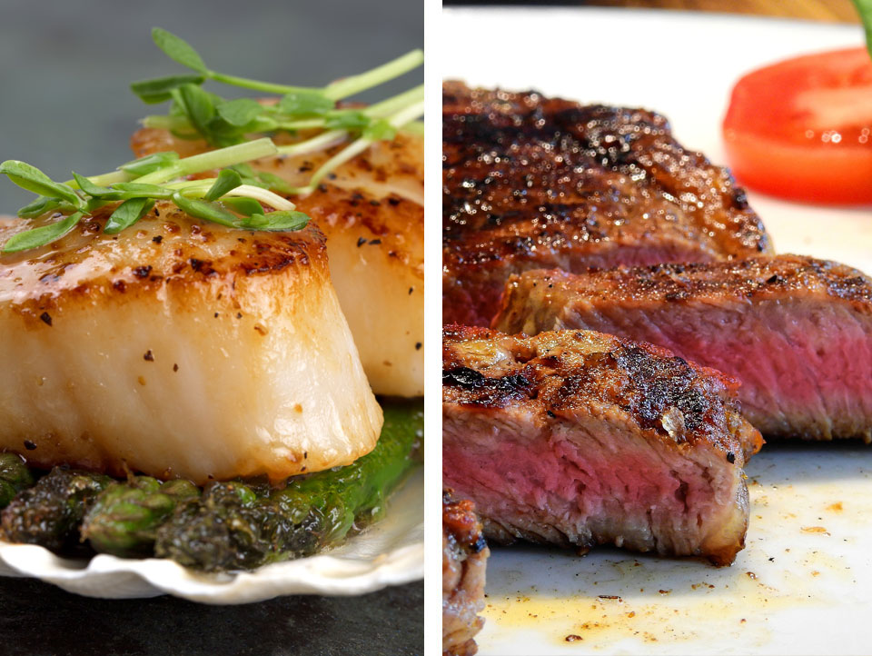 Pick Surf or Turf